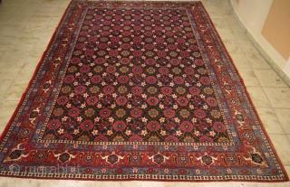 Veramin carpet with Mina Khani design, size: ca.330x210cm / 10'8'' x 6'9'' circa 1930