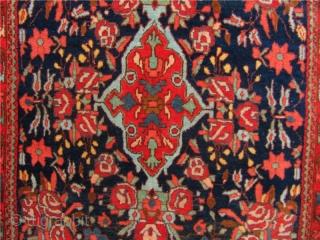 Antique Persian Bidjar Poshti. circa 1900. size: ca 75x63cm / 2'5'' x 2'1''