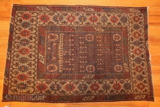 """Antique Caucasian AvarRug 44636, Size:2'7"""" x 3'10"""", Origin: Caucasus, Circa: 18th Century- Here is a beautiful antique Oriental rug -- an antique Avar Caucasian rugthat was originally made in the Caucuses during  ..."""