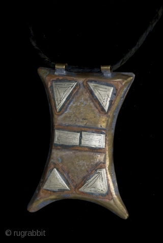 Old Berber Kitab,  pure silver, copper and brass hand made amulet from High Atlas region,  Morocco, protective talisman, which usually contain verses ( Surah ) on paper, from the Holy  ...