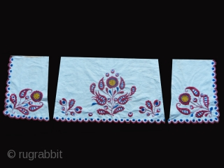 Woman's skirt embroidered fragments cos. 0751. East Europe (?). Early 20th. century. Very good condition.