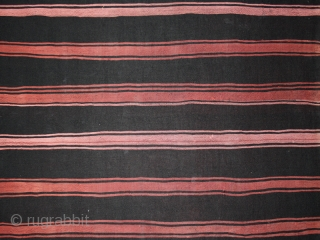 """Woman's mantle cod. 0395. Wool silk. Berber people. South Tunisia. First half 20th. century. Very good condition. Dimension cm. 210 x 98 (82.5"""" x 38.5"""")."""