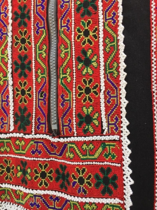 Tribal vintage woman dress from indus Kohistan valley of Pakistan.