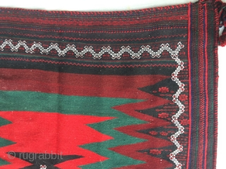 Vintage persian kurdish bahtiyari sofra, 135 x 130 cm   www.eymen.com.tr