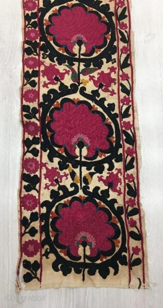 Antique suzani kapilik in good condition.195 x 130 cm  www.eymen.com.tr