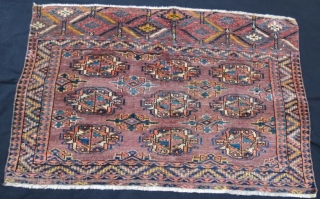 Turkmen yamut chuval in good condition 115 x 75 cm