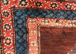 Antique anatolian karapinar rug fragment,120 x 86 cm