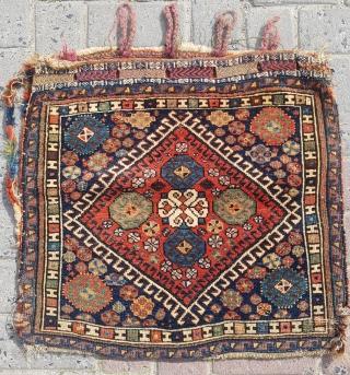 19.th century Qashqai Bag sıze 57x60
