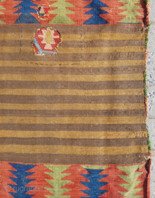 19.th century Caucasian Mafrash sıze 100x131