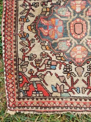 19th. Century Persian Sarouk bag sıze: 40 x 40