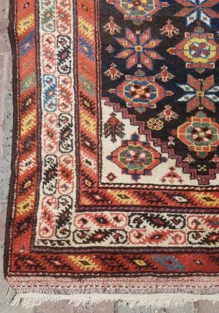 19.th Century Persian Kurdish sıze 107x345