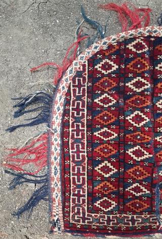 19. Century Turkmen Bag size 46x50 cm