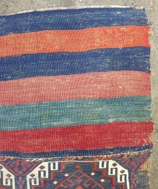 19.Century Anatolian Chuval size 90x108