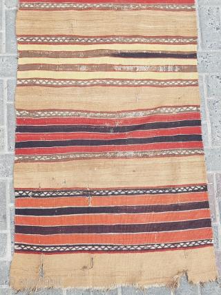 18.century Karapınar Kilim size 75×360