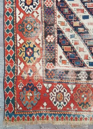 1850's Caucasian Rug sıze 125×195