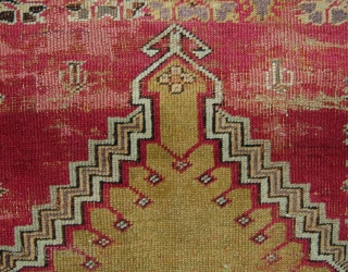Mid 19th.c. kirshehir prayer rug. 164 x 128cm.