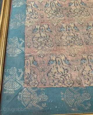 persian safavid brocade fragment
