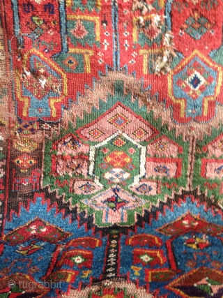 A Fantastic North West Persian Kurdish Rug With An
