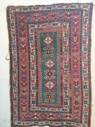 pre-commercial caucasian rug, quite good one...