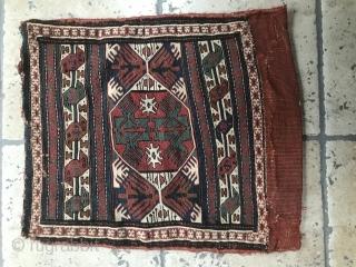 pair of shasavan sumak bagface approximately 50x 50cm