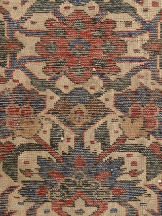 """""""Just living is not enough... one must have sunshine, freedom, and a little flower."""" Hans Christian Andersen Baluch rug, North-east Persia, 19th century, a real mastperpiece of its kind. All organic, deeply  ..."""