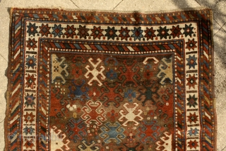 """""""Symbols are powerful because they are the visible signs of invisible realities."""" Saint Augustine A mythic 'Scarabeus' Kazak rug, pre-commercial village rug from the Caucasus. 19th century. In the ancient egyptian culture  ..."""