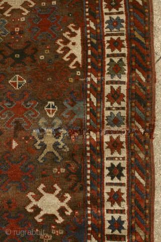 """Symbols are powerful because they are the visible signs of invisible realities."" Saint Augustine A mythic 'Scarabeus' Kazak rug, pre-commercial village rug from the Caucasus. 19th century. In the ancient egyptian culture  ..."