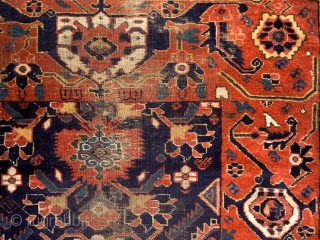 """""""i have simply wished to assert the reasoned and independent feeling of my own individuality within a total knowledge of tradition."""" Henri Matisse North-east persian baluch rug (Ferdaus/Qaen/Birjand area), 19th century. Very  ..."""