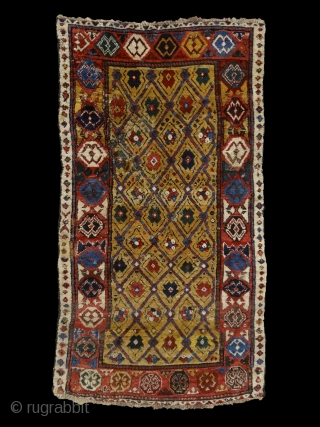 """""""Sleep is the best meditation."""" - Dalai Lama. 'Yatak'/sleeping rug, Caucasus, Zakatala, early 1800's. Extremly meaty/long pile all over, old reapirs as you can see on the pics, glowing / saturated /  ..."""