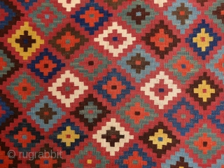 """""""Color which, like music, is a matter of vibrations, reaches what is most general and therefore most indefinable in nature: its inner power."""" Paul Gauguin Bakhtiari (?) kilim, Persia, 19th century. i  ..."""