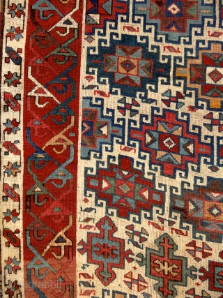 """""""When the color achieves richness, the form attains its fullness also."""" (Paul Cezanne) Shahsavan rug, Caucasus, mid 19th century. Perfect condition. Available. Please ask for more, if interested. More beauties on sale:  ..."""
