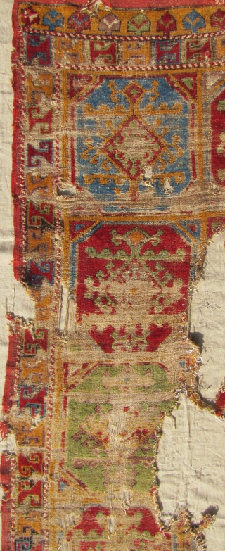 18th century fragment from central Anatolia....info and more pictures on request.