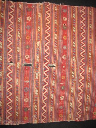 Anatolian kilim fragment. West/Central(Dazkiri?). 1st half 19th century 135x225cms