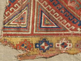 18th/19th century Konya area fragment. 130x96cms
