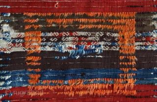 South-east Anatolian tulu, organic dyes, 19th century, 240x118cms