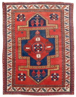 Kazak, late 19th/early 20th century, Shusha (Nagorno-Karabakh in the South Caucasus), the so-called 'namazlyk' - prayer rug - 225x180 cm
