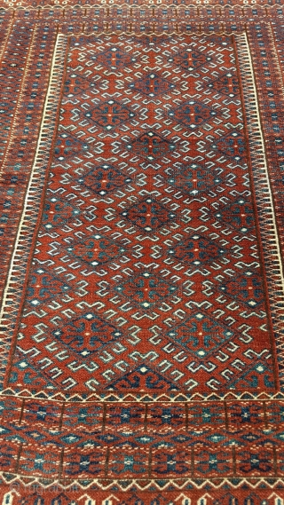 Classic Göklan  Dowry (wedding) rug Later 19th but most probably early 20th century Very good condition