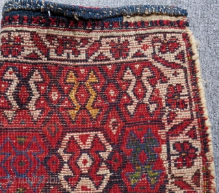 Antique Persian Kurdish Bag face Size.61x56 Cm