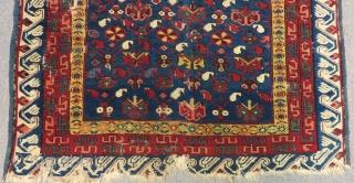 Second 19th Century Caucasian Zechur Rug Size.140x100 Cm