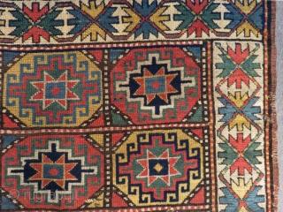 Antique Caucasian Mogan Rug Circa 1880 Size.204x126cm