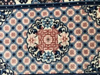 Chinese carpet Size 90x62 cm