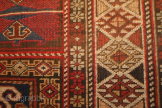 Shirvan rug with a soumac design, early 20th c 4.3 X 6.4