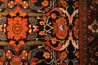 Mahal Circa 1900 c full pile, excellent wool quality, exquisite color 4.5 X 6.10