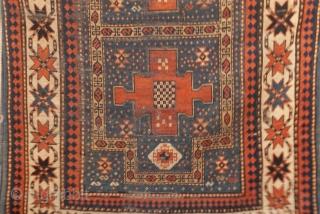 Size: 7`2 x 3`11  Kazak