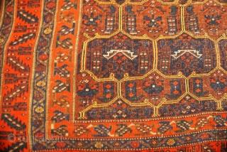 Kurdish rug 3.7 x 5.6