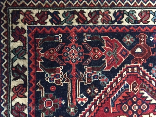 """19th Century extremely  fine Khamseh  perfect condition  3'6"""" x 2'"""