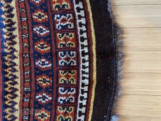 Uzbek   Julkirs   2.77 X  1.38  cm  Made in three halves great colour .
