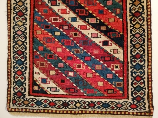 Happy new year , I am going to assume it can't be worse than 2020 this post is for a Shahsevan bag in pile. Unusual sumac drawing