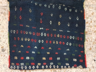 Qashqai khorjin of big kashkuli,  Early 19th century Size is 90*47 cm  Por