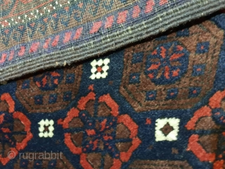 Antique baluch (Jan beigi) rug